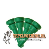 Tepelvoering WF Surge silicone 21-27 Groen